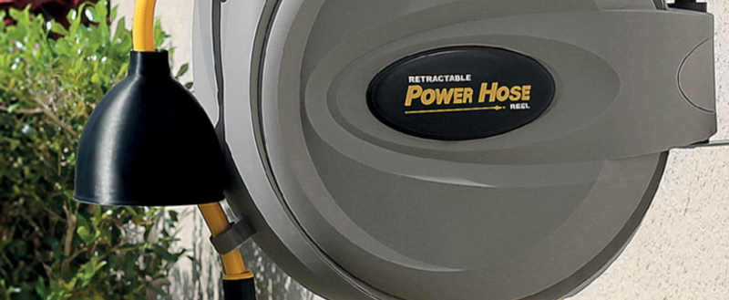 Power Retractable Hose Reel